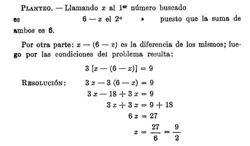 Matemáticas: Ecuaciones. Problemas de primer grado con una o dos ...
