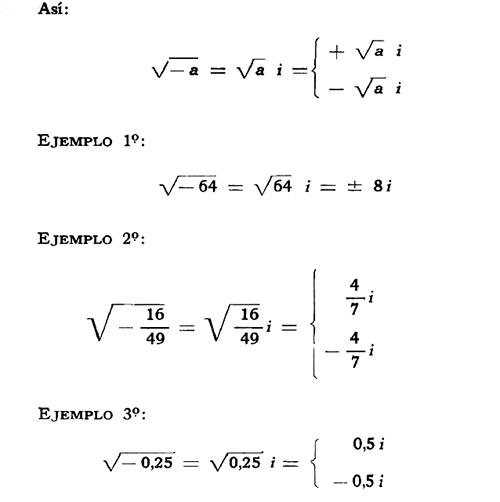 Matemáticas: Potencias de números complejos. Raíz cuadrada ...